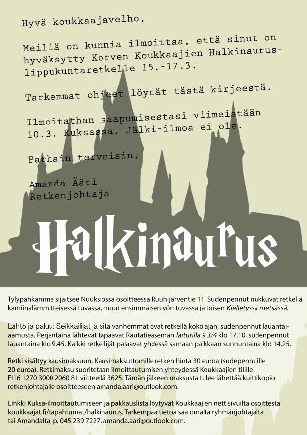 Halkinaurus